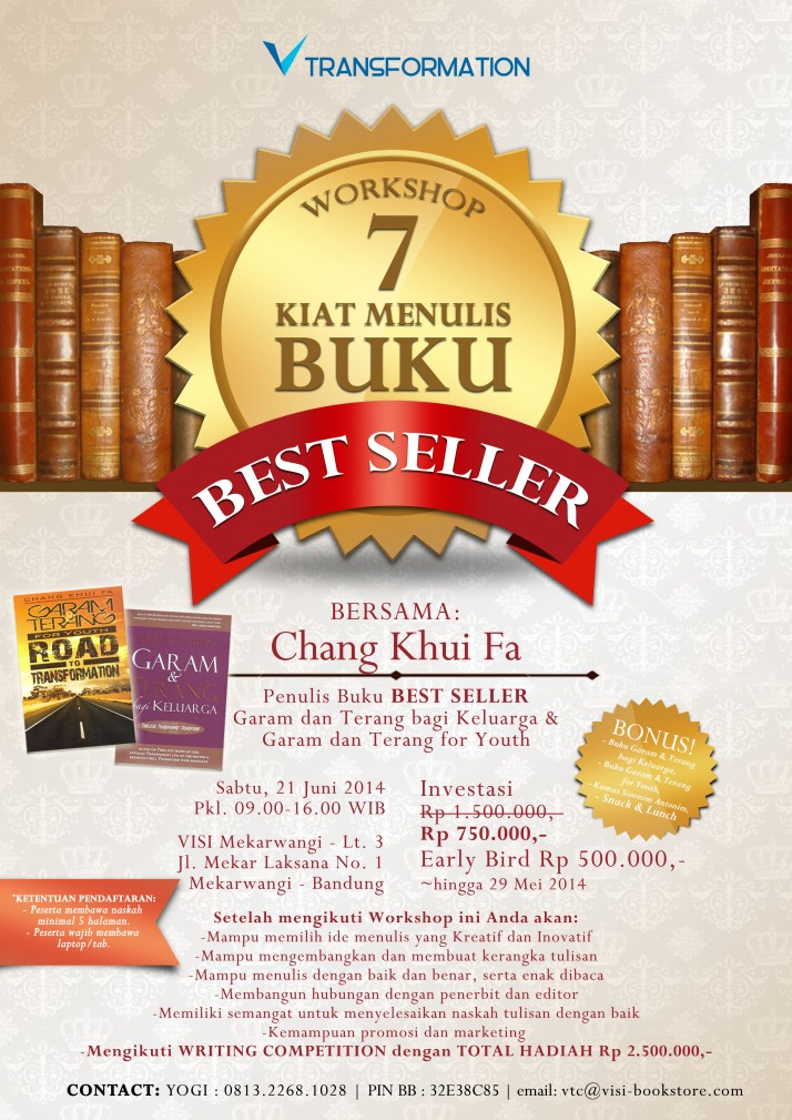 7 kiat Menulis Buku Best Seller REV 2